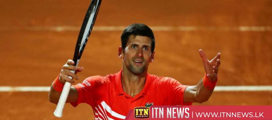 Djokovic defeats Schwartzman to setup meeting with Nadal in Rome final
