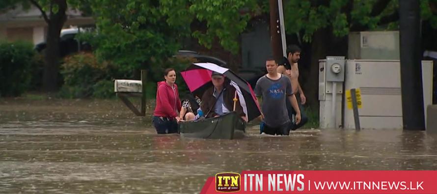 Torrential rains, floods slam Houston