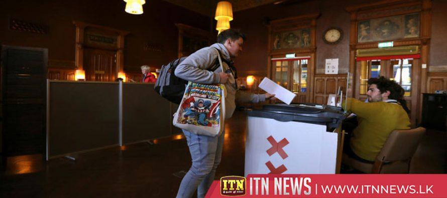 Labour party wins Dutch vote in European election – exit poll