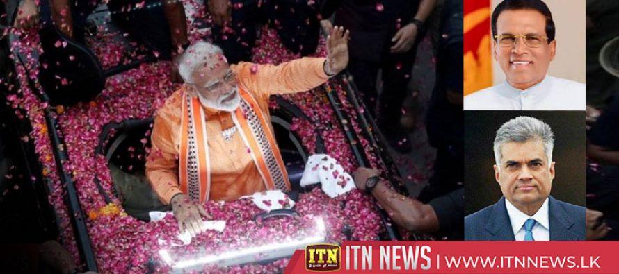 President and PM congratulates Narendra Modi