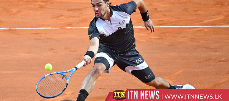Fognini fires past Tsonga in Rome, Nadal feeling positive