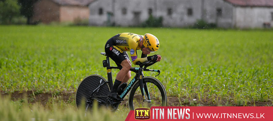 Roglic emerges as man to beat in Giro after time trial win