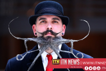 moustache and beard fans compete in World Championship