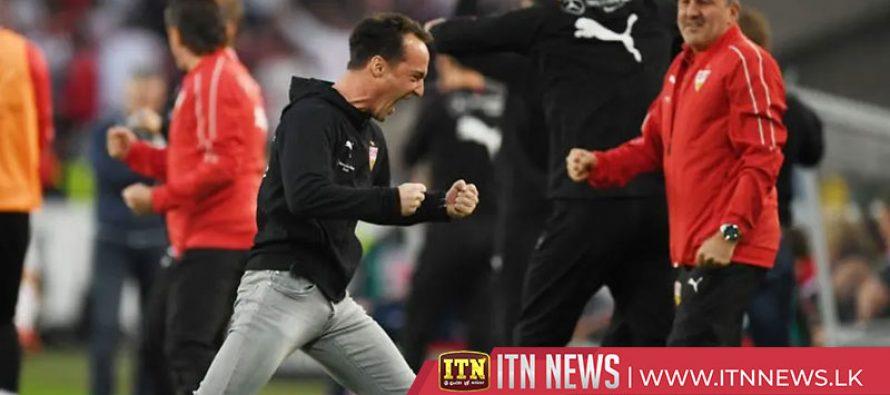 Stuttgart held by battling Union Berlin in playoff first leg