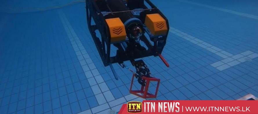 Robots make waves in Chinese underwater challenge
