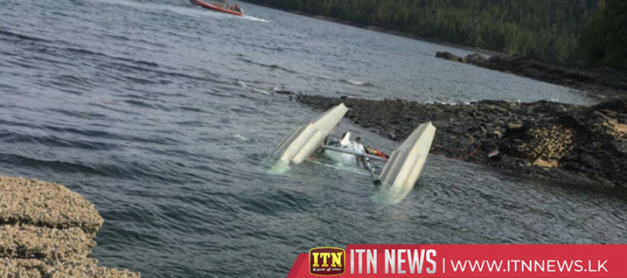 Two missing in Alaskan waters after tour planes crash