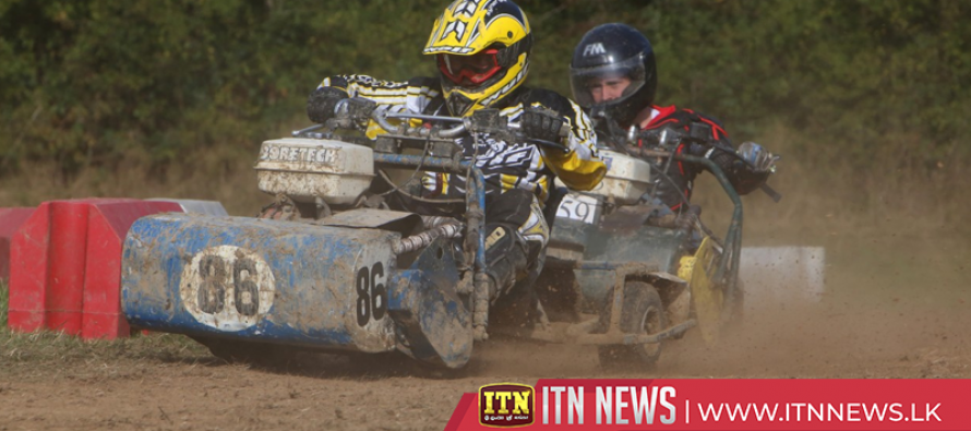 Ready, Steady, Mow! The British lawn mower racing season gets off to a perfect start