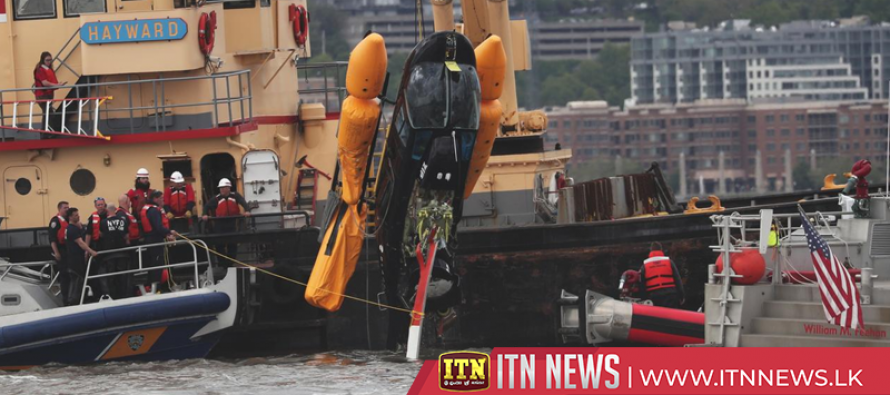 Helicopter crashes into Hudson River in New York, injuring two