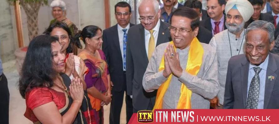President in India for Narendra Modi's swearing in