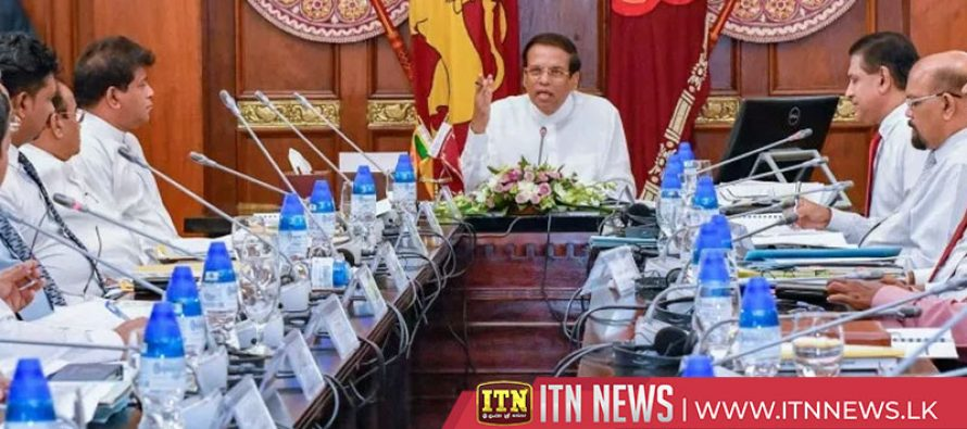 President instructs to accelerate Mahaweli development projects