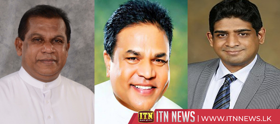 Two new Ministers and State Minister take oaths before President