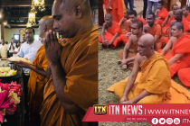 Rathana Thera begins a fast unto death