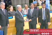 Sri Lankan Security forces members awarded UN medals