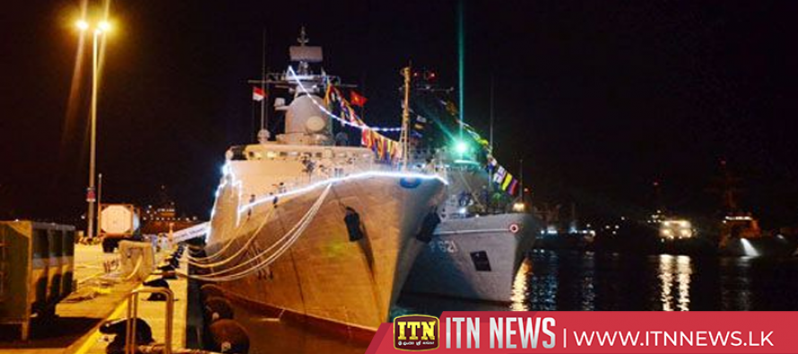 Samudura vessel reaches Singapore