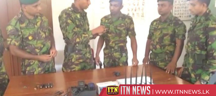 Seven mobile phone jammers seized in Negombo