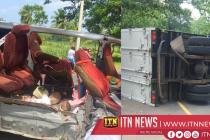 Three killed in an accident in Kekirawa