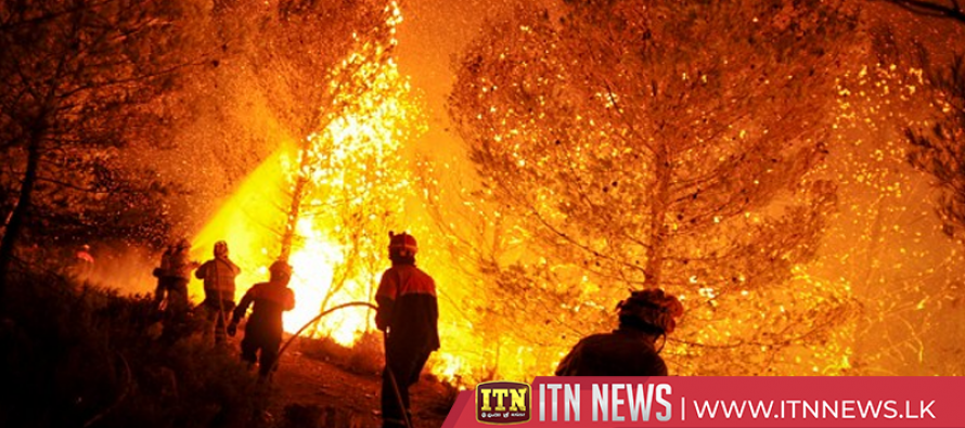 Catalonia wildfire rages out of control, burning at least 3600 hectares
