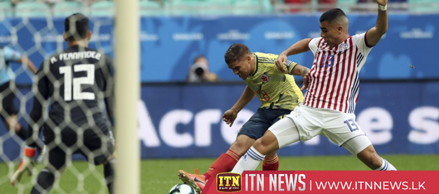 Colombia holds on to defeat Paraguay 1-0 and complete Copa group stage with three wins