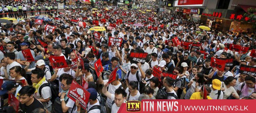 Hong Kong extradition: Debate over bill delayed amid protests
