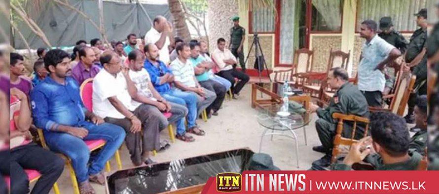 පුනරුත්ථාපනය කළ හිටපු LTTE සාමාජිකයින්ගේ ජීවන තත්ත්වය නගා සිටුවීමේ වැඩසටහනක්
