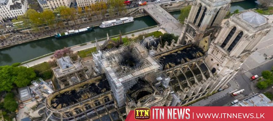 Notre Dame to hold first mass since April fire