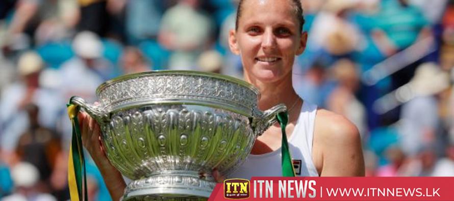 Pliskova fires Wimbledon warning with Eastbourne triumph