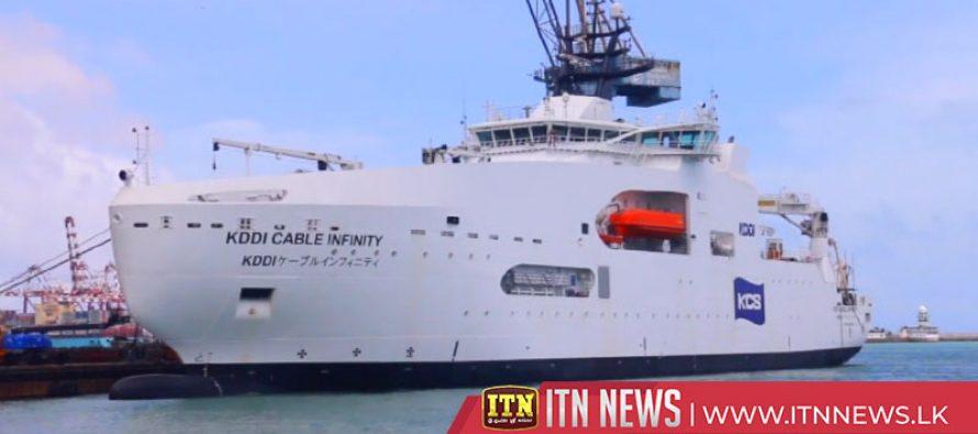 Sri Lanka built ship handed over to Japan