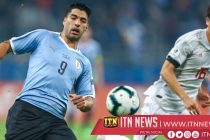 Uruguay rallies from behind twice to draw 2-2 with Japan at Copa