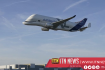 Airbus cheers 50th anniversary with flypast but little swagger