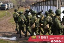 Russia stages military show in annexed Crimea