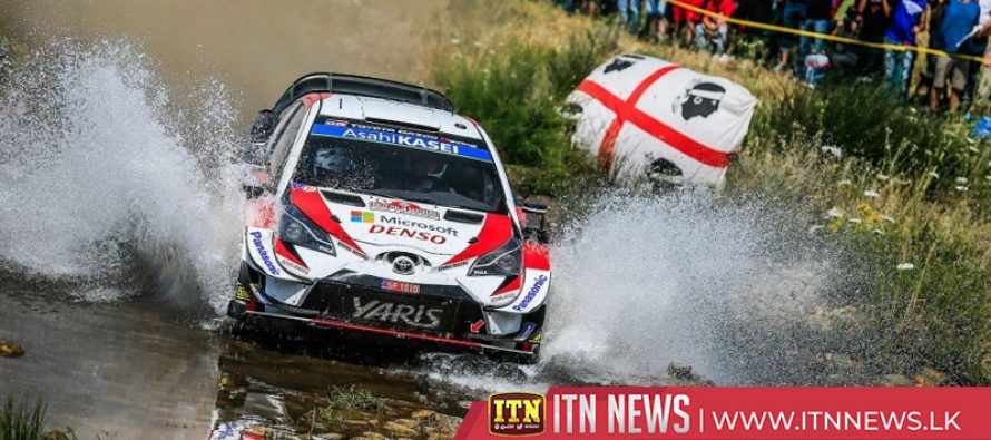Tanak takes lead in Rally of Italy