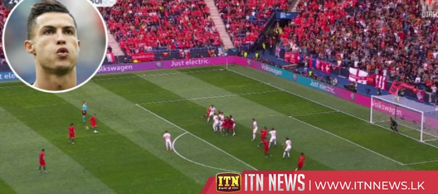 Cristiano Ronaldo scored his 86th international goal