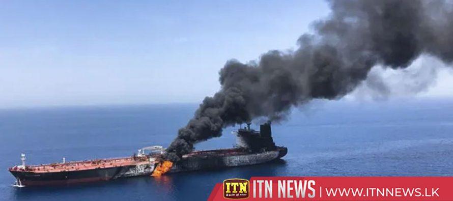 Saudi Arabia blames tanker attacks on rival Iran