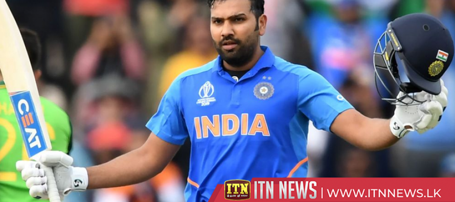 Rohit Sharma hits century in Cricket World Cup victory