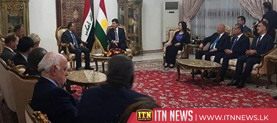 UN Security Council delegation meets Iraqi leaders during Baghdad visit