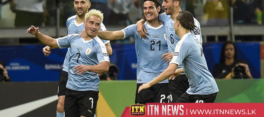 Uruguay eases past undermanned Ecuador 4-0 at Copa
