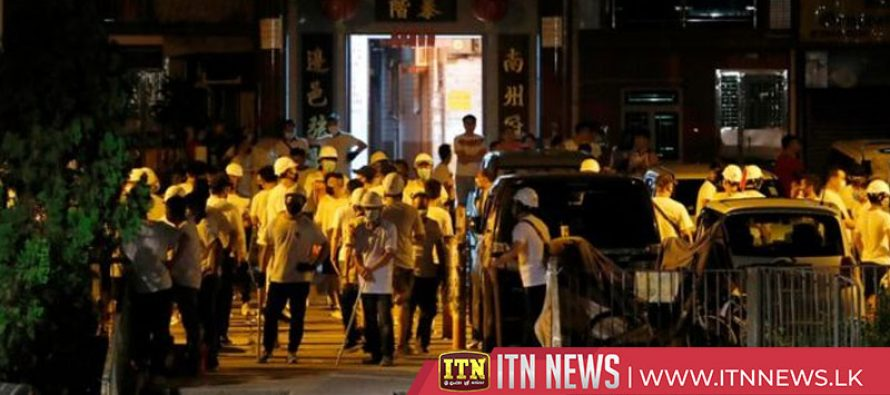 Armed mob storms Yuen Long station