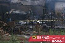 பாகிஸ்தானின் இராணுவ விமானம் விழுந்து நொருங்கியதில் 17 பேர் பலி