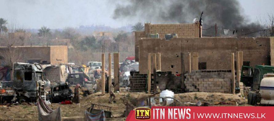 சிரியாவில் ISIS பயங்கரவாதிகளால் மேற்கொள்ளப்பட்ட தாக்குதலில் 7 குழந்தைகள் பலி