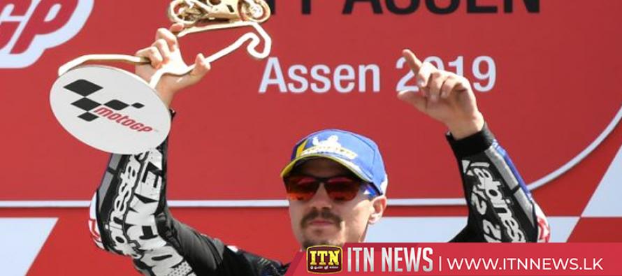 Vinales wins at Assen, Marquez stretches MotoGP lead