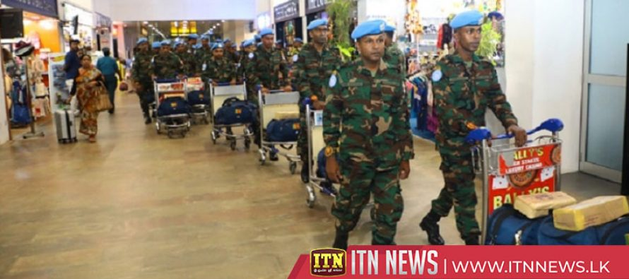 61 Army personnel leaves for UN missions