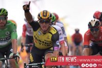 Groenewegen wins Tour stage seven as Ciccone retains yellow jersey