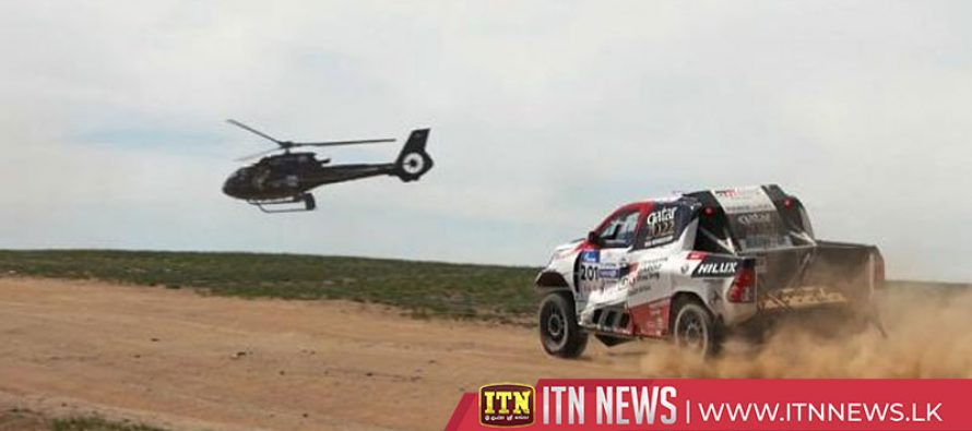 Al-Attiyah and Sunderland win the Silk Way Rally