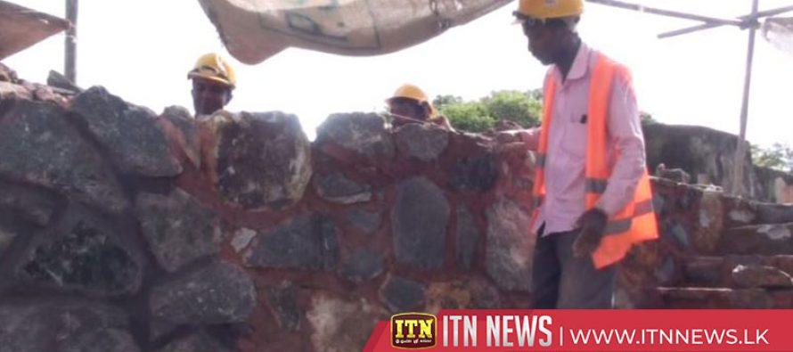 Galle Fort conservation underway