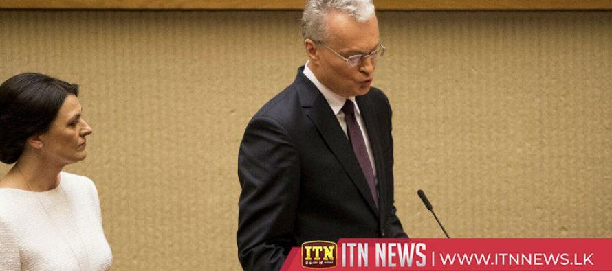 Lithuania's new president sworn in