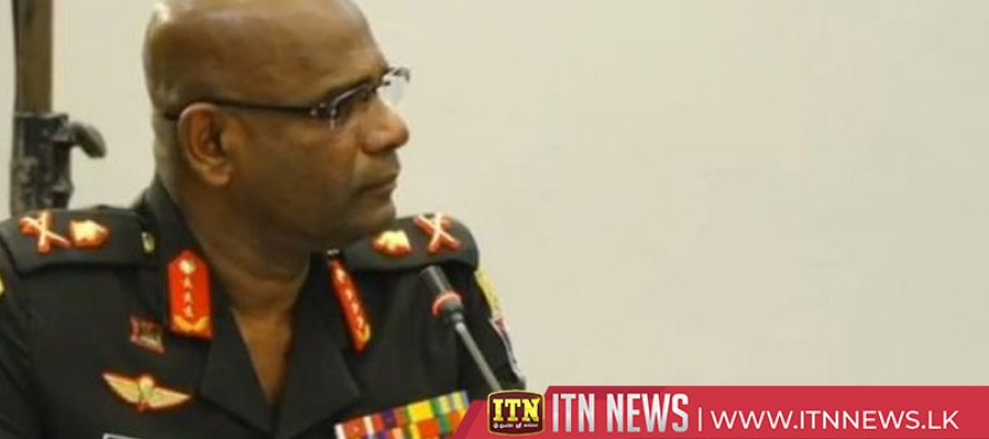 The Army Commander testifies before the Parliamentary Select Committee