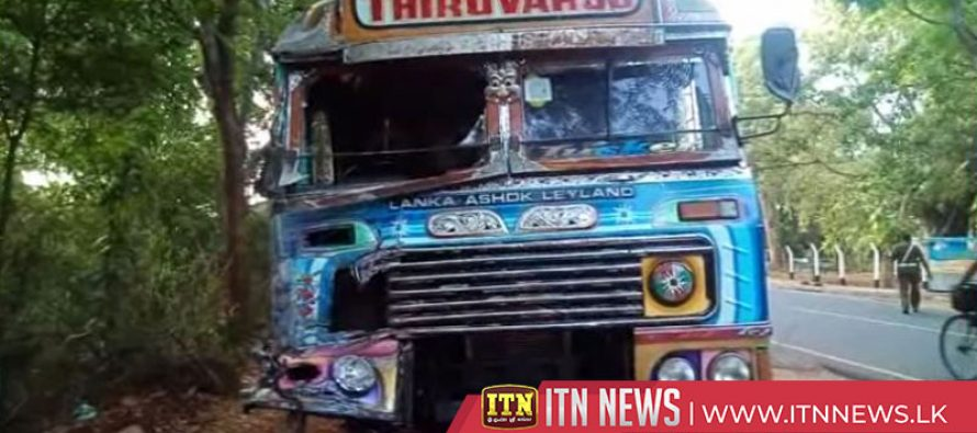 Three killed, eight injured in lorry-bus collision