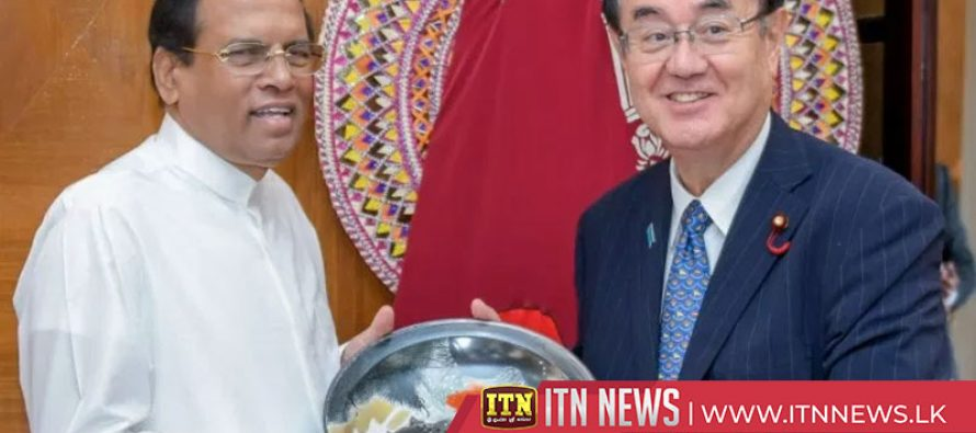 President is ready to strengthen Japan Sri Lanka relations