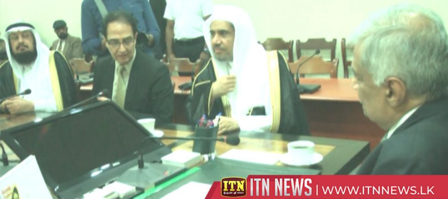 Prime Minister met General Secretary of the Muslim World League
