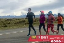 Runners race up Bolivia's high-altitude 'Highway of Death'